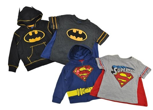 Superman or Batman 3-Piece Set