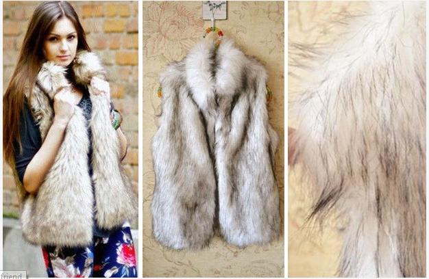 Trendy Faux Fur Vest