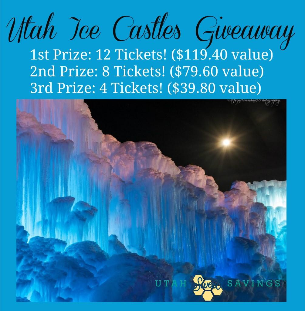 Utah Ice Castles Giveaway 2016
