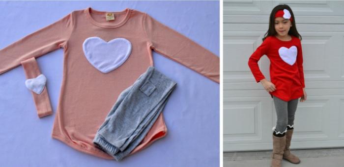 Valentines Clothing Set