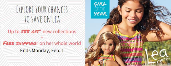 american girl lea clark sale
