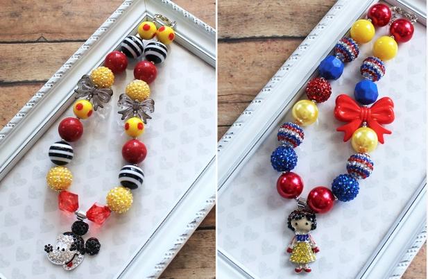 disney bubble gum necklaces