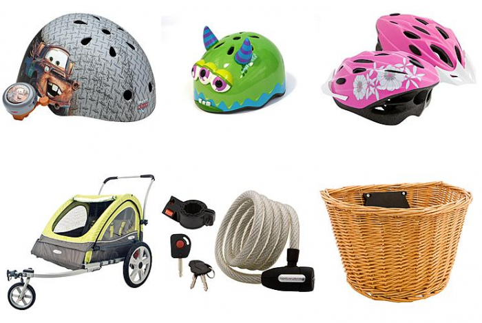 kmart bike accessories
