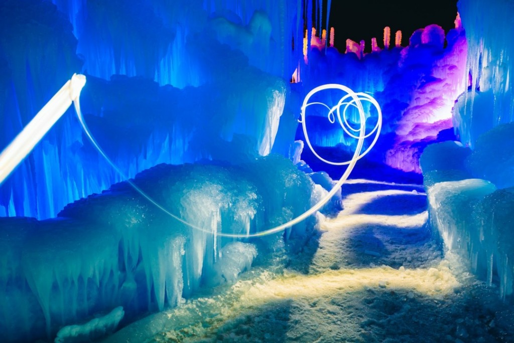 midway ice castle