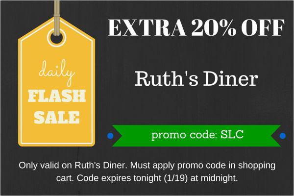 ruths diner flash sale