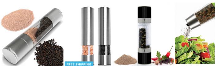 salt and pepper mill grinder