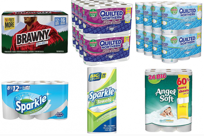 staples paper towels and toilet paper
