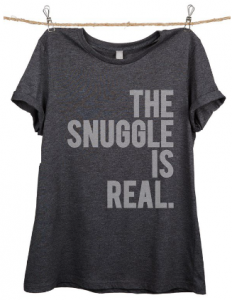 the snuggel is real