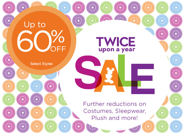 twice upon a year sale disneystore