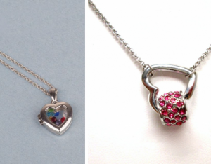 vday necklace