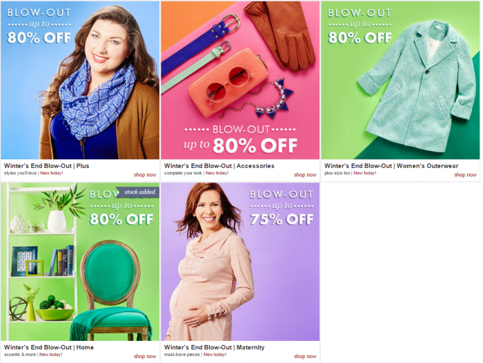 zulily blow out winter