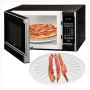 2 Pack - Microwave Bacon and Pizza Plate $5.49 Shipped!