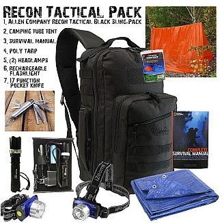 8 piece Recon Tactical Survival Kit