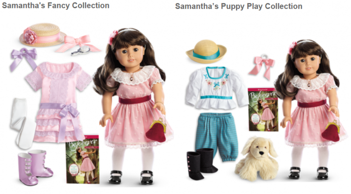 American Girl Doll Samantha Collections