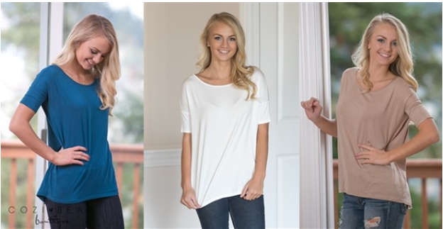 Best Selling Modal Tunic Top