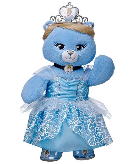 Build-A-Bear Limited Edition Cinderella Bear