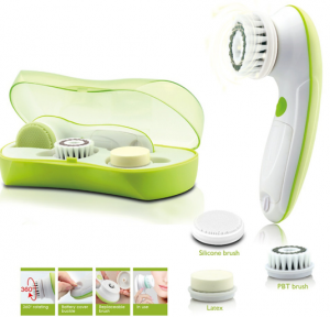 Carteret Collection Purifying Cleansing Brush Set