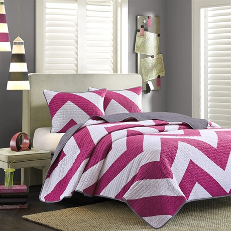 Chevron Coverlet