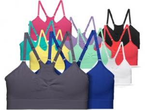 FILA Women's Seamless Camisole Bra