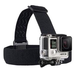 GoPro Head-Strap Camera Mount