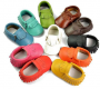 Handmade Genuine Leather Baby Moccasins