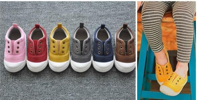Kids Canvas Sneakers $10.99 (Reg. $29.99)