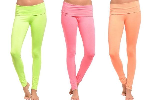 Neon Yoga Pants - 5 Colors