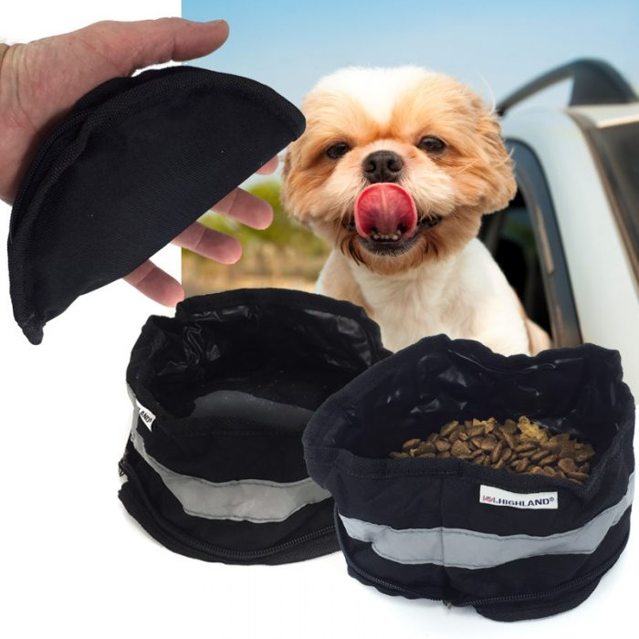 On-The-Go Zip Up Pet Bowl