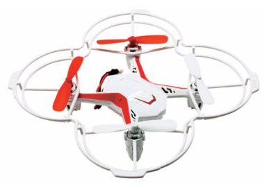 Quadrone Voice-Control Quadcopter