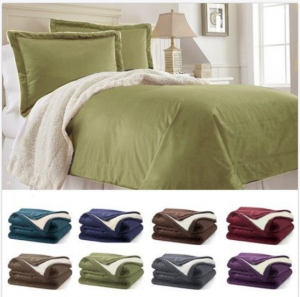 RC Collection - Warm Plush Sherpa Comforter Blanket