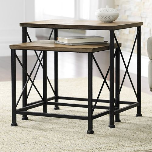 SONOMA life + style® Wyatt 2-pc. Nesting Table Set
