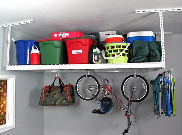 SafeRacks 4x8 Heavy Duty Garage Storage Rack