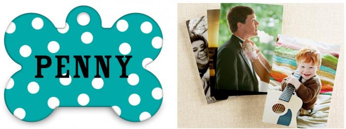 Shutterfly freebie offer pet tag photo prints