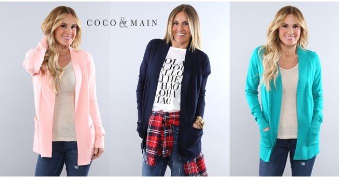 Spring Knit Cardigan + Pockets
