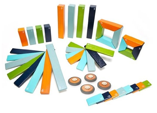 Tegu Magnetic Wooden Blocks 44 Piece Set