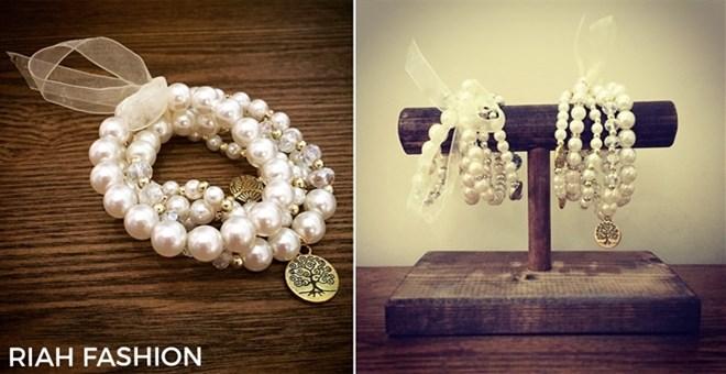 Tree of Life Pearl Bracelet