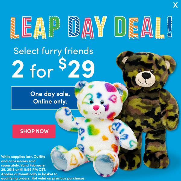 build-a-bear leapday