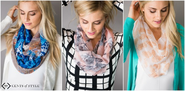 cents of style spring scarves