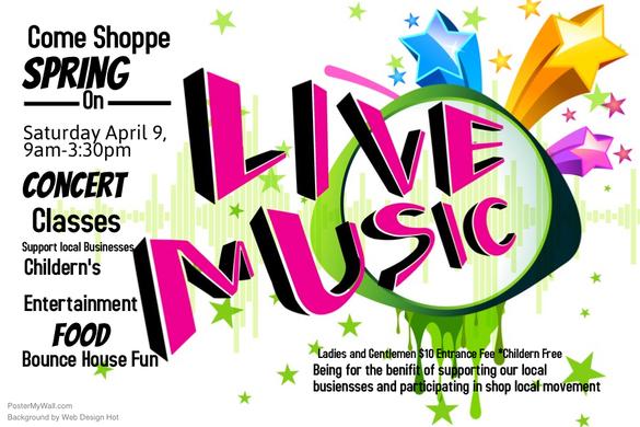 come shoppe spring event