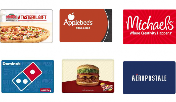 HOT* eBay Gift Card Deals! Papa Johns, Applebee's, Michael's, MORE ...