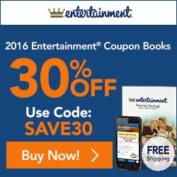 entertainment coupon book