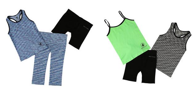 girls athletic clothing