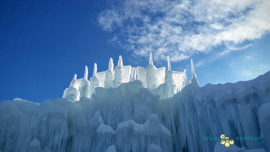 ice castle beautiful