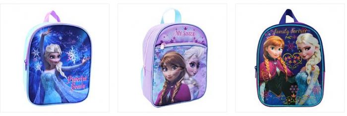 kohls frozen backpacks