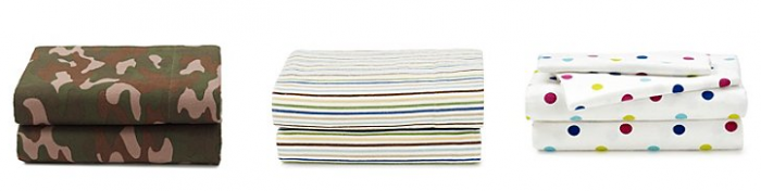 livingquarters heavy-weight flannel sheet set