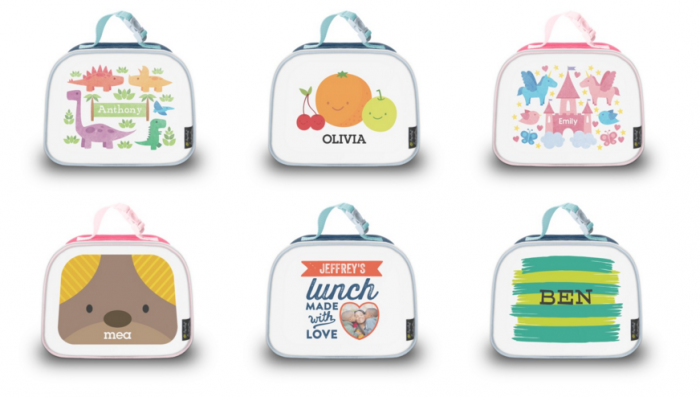 shutterfly personalized lunch bags