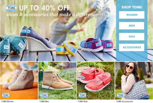 toms sale on zulily