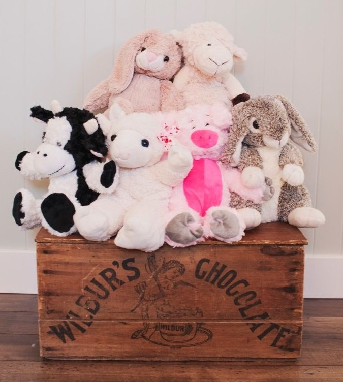 Build Your Own Stuffed Farm Animal Kit For 12 99 No Sewing