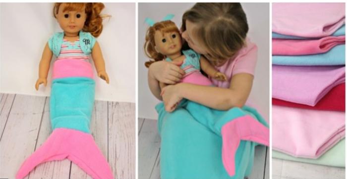 Doll Mermaid Tail