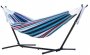 Double 8' Hammock with Stand